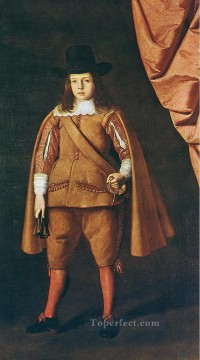 Francisco Art Painting - Portrait of the Duke of Medinaceli Baroque Francisco Zurbaron