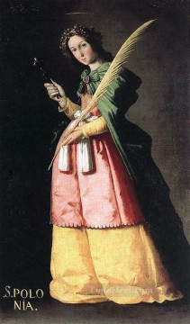 baroque - St Apolonia Baroque Francisco Zurbaron