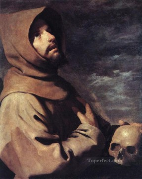 Francisco Art Painting - St Francis Baroque Francisco Zurbaron