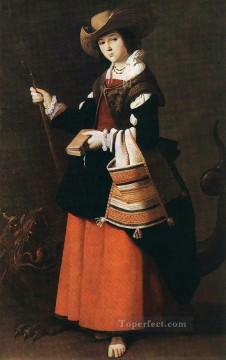 baroque - St Margaret Baroque Francisco Zurbaron