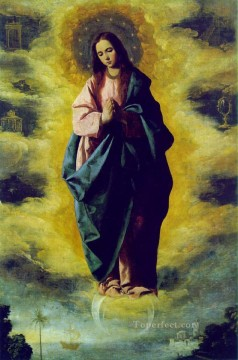Francisco Art Painting - The Immaculate Conception Baroque Francisco Zurbaron