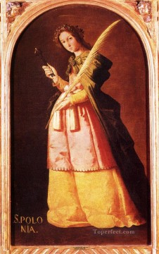 Francisco Art Painting - De St Apollonia Baroque Francisco Zurbaron