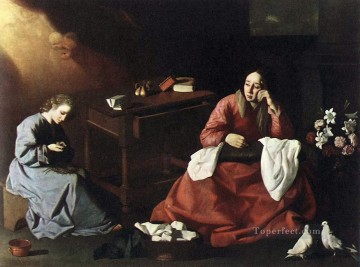 Francisco Art Painting - The House of Nazareth Baroque Francisco Zurbaron