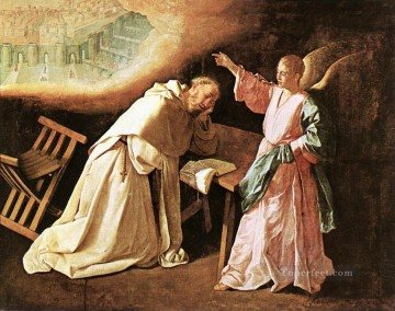 Francisco Art Painting - The Vision of St Peter of Nolasco Baroque Francisco Zurbaron