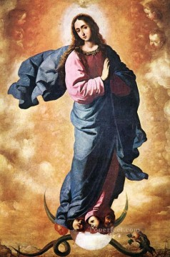 Francisco Art Painting - Immaculate Conception Baroque Francisco Zurbaron