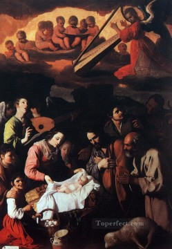 baroque Painting - The Adoration of the Shepherds Baroque Francisco Zurbaron