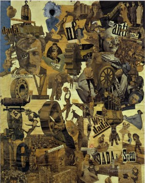 100 Great Art Painting - Hannah Hoch Cut with the Kitchen Knife