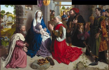 100 Great Art Painting - Hugo van der Goes Adoration of the Kings