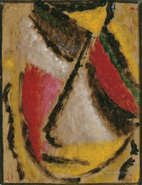 100 Great Art Painting - Alexej von Jawlensky Meditation