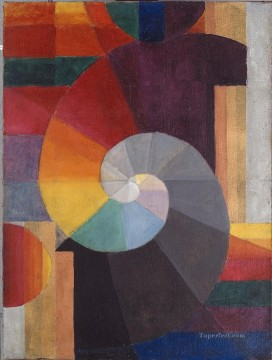 100 Great Art Painting - Johannes Itten The Encounter