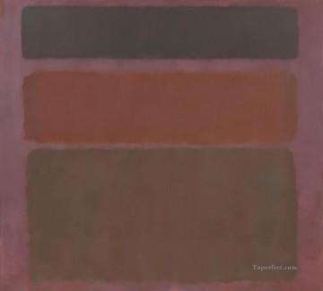 100 Great Art Painting - Red Brown and Black