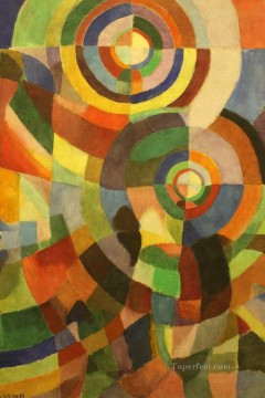 Sonia Delaunay Terk Electric Prisms Oil Paintings