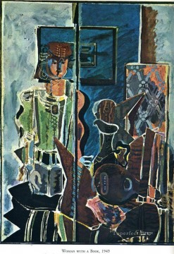 100 Great Art Painting - Georges Braque The Female Musician