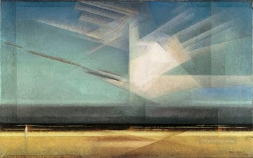 100 Great Art Painting - Lyonel Feininger Bird Cloud