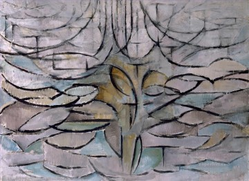 Piet Mondrian Apple Tree in Bloom Oil Paintings