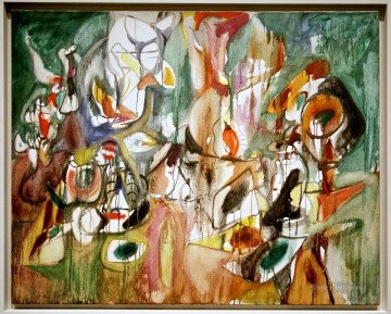 100 Great Art Painting - Arshile Gorky One Year the Milkweed