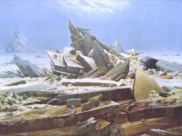 Caspar David Friedrich Polar Sea Oil Paintings