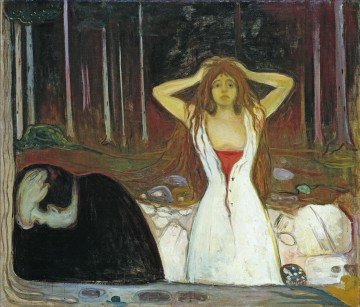 100 Great Art Painting - Edvard Munch Ashes