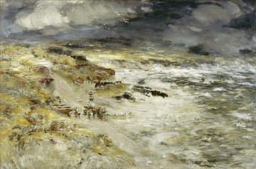100 Great Art Painting - William McTaggart The Storm