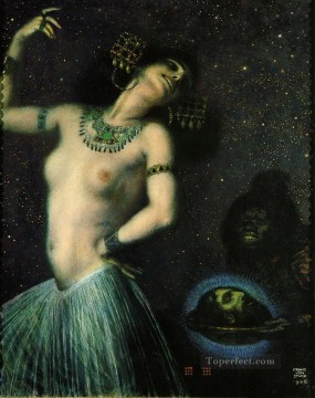 Franz von Stuck Salome Oil Paintings