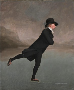 100 Great Art Painting - Henry Raeburn Rev Robert Walker Skating