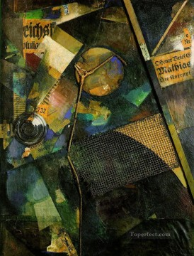 100 Great Art Painting - Kurt Schwitters Merzbild 25A Constellation