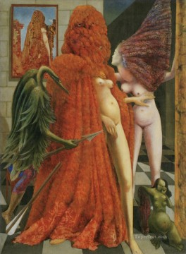 100 Great Art Painting - Max Ernst Attirement of the Bride