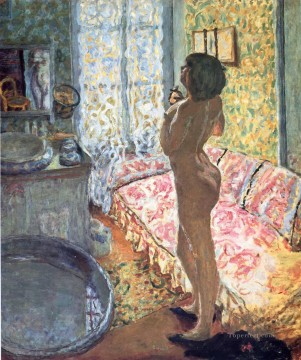 Pierre Bonnard Backlit Nude Oil Paintings