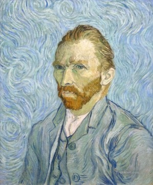 100 Great Art Painting - Vincent van Gogh Self portrait 1889