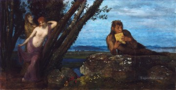 100 Great Art Painting - Arnold Bocklin Spring Awakening