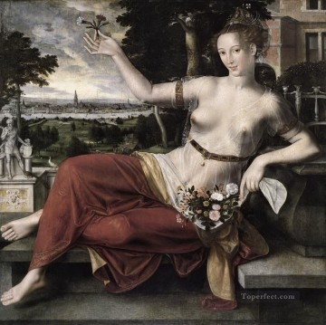 100 Great Art Painting - Jan Matsys Flora