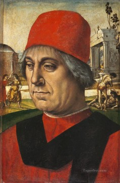 100 Great Art Painting - Luca Signorelli Portrait of an Older Man