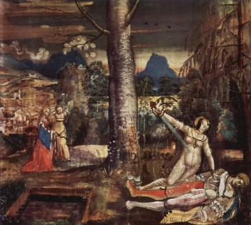 Manuel Painting - Niklaus Manuel Deutsch Pyramus and Thisbe