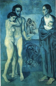 100 Great Art Painting - Pablo Picasso La Vie