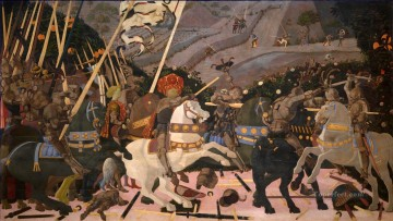 100 Great Art Painting - Paolo Uccello The Battle of San Romano