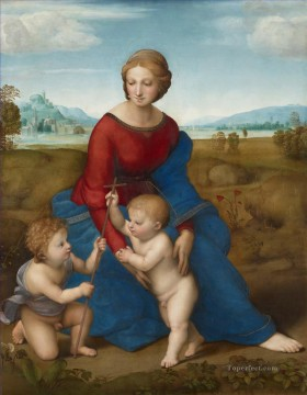 100 Great Art Painting - Raffael Madonna of the Meadow