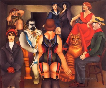 100 Great Art Painting - The Meeting