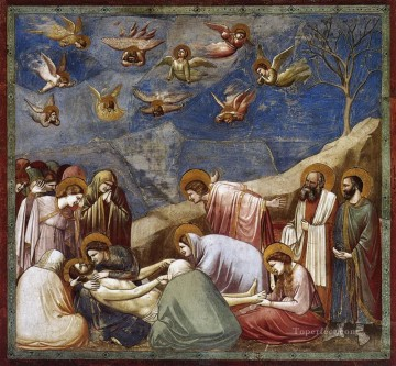 100 Great Art Painting - Giotto The Mourning of Christ