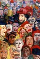 James Ensor Self portrait with Masks