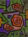 Heroic Roses Abstract Expressionism