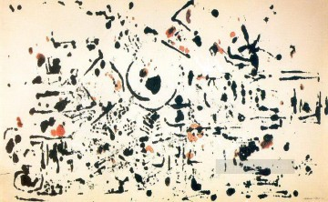 Abstract and Decorative Painting - Untitled 1951 Abstract Expressionism