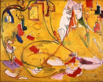 Abstract Expressionism Painting - Provincetown House Abstract Expressionism