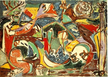 Abstract Expressionism Painting - The key Abstract Expressionism