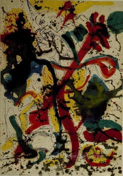 Famous Abstract Painting - untitled 1942 Abstract Expressionism