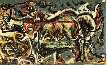 Abstract Expressionism Painting - The She Wolf Abstract Expressionism