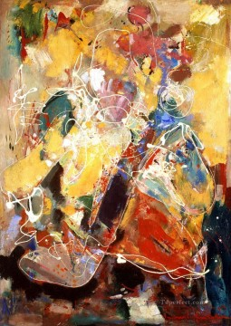 Abstract Expressionism Painting - Fantasia Abstract Expressionism