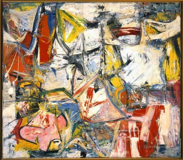 Abstract Expressionism Painting - Gotham News Abstract Expressionism