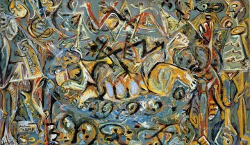 Famous Abstract Painting - pasiphae 1943 Abstract Expressionism