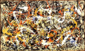 Famous Abstract Painting - Convergence Abstract Expressionism