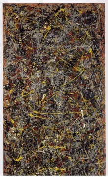 Famous Abstract Painting - Number 5 Abstract Expressionism